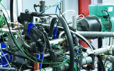 Notre banc d'essai moteur avec la European Commission H2020